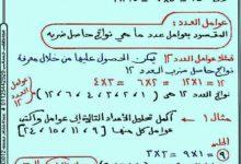 صورة (رياضيات 5) شرح رائع للدرس الأول والثاني والثالث من كتاب الرياضيات. للصف الخامس ف1