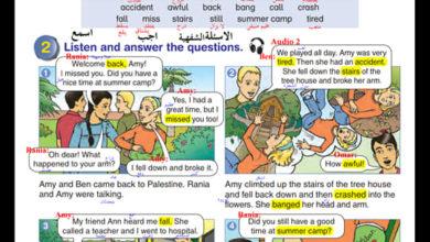 Photo of (اللغة الانجليزية) إجابة الوحدة الأولى من كتاب  اللغة الانجليزية للصف السادس الفصل الاول