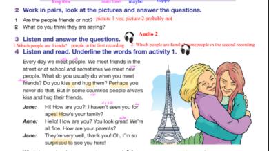 Photo of حلول أسئلة كتاب اللغة الانجليزية للصف السابع الفصل الأول
