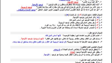 Photo of إجابات راااائعة لجميع أسئلة كتاب التربية الإسلامية للصف الثامن 8 الفصل الاول
