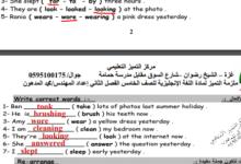 Photo of (إنجليزي) إجابات الأسئلة الإثرائية لمادة (اللغة الانجليزية) – (للصف الخامس ) الفصل الثاني