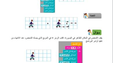 Photo of مادة إثرائية في  البرمجة للصف (الخامس الفصل الثاني