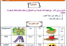 Photo of [اللغة الإنجليزية] بطاقات شاملة للتعلم الذاتي للصف الثالث – الفصل الثاني
