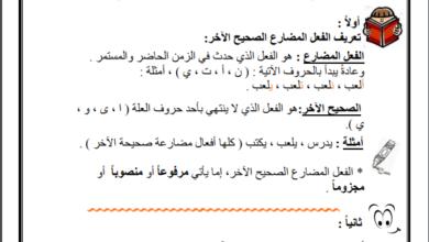Photo of مادة تأسيسية في قواعد اللغة العربية لجميع الصفوف من خامس لعاشر