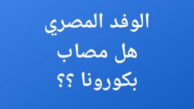 صورة هل الوفد المصري مصاب بكورونا .. إجراءات طارئة تتخذ الآن في غزة ! ما هي ؟