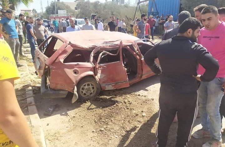 صورة حادث سير مروع ضحاياه من طلاب الثانوية العامة في جنين